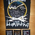 Thin Lizzy - Thunders and Lighntnings Patch