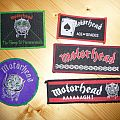 Some Motorhead patches