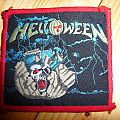 "HELLOWEEN ""Helloween (EP)"" red border patch"
