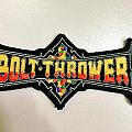 Bolt Thrower Small Shaped Patch