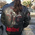 Cenotaph - Battle Jacket - cenotaph painted logo update