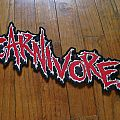Carnivore shaped back patch