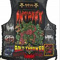 black/death vest Battle Jacket