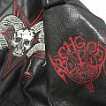 archgoat paint logo Battle Jacket