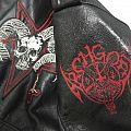 archgoat paint logo Battle Jacket