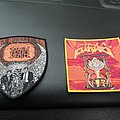 Napalm Death - Patch - Napalm death and atheist patches