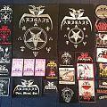 Abigail/Barbatos/Cutthroat/Tiger Junkies patches
