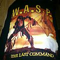 W.A.S.P. The last command t-shirt
