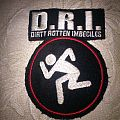 Dirty Rotten Imbeciles,D.R.I. embroidered Patch
