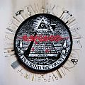 Carcass - In Grind We Trust circle woven patch