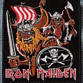 Iron Maiden - Patch - Iron Maiden Vikings patch
