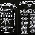 Gamma Ray - TShirt or Longsleeve - GAMMA RAY - Hellish Rock Tour pt.II