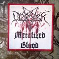 "Desaster ""Metalized Blood"" Patch"