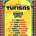 Barren Earth/Turisas Finland tour poster