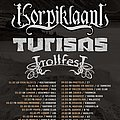 Korpiklaani Eurotour poster Other Collectable