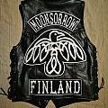 Moonsorrow leather kutte Battle Jacket