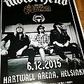 Motörhead gig poster Other Collectable