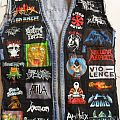 My battle jacket (patchs hand painted)