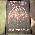 Overkill Bring Me The Night Official Woven Patch