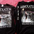 Immolation failures for gods TShirt or Longsleeve