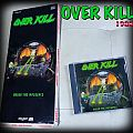 OVERKILL longbox 1988 under the influence  Tape / Vinyl / CD / Recording etc