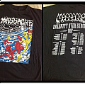 Massacre from beyond europe tour alternative cover shirt