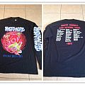 MASSACRE  from beyond tour long sleeve no monsters on the sleeve TShirt or Longsleeve