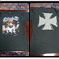 Entombed clandestine by earache  grape logo and cross on back TShirt or Longsleeve