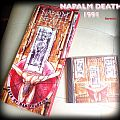 Napalm Death Death by Manipulation Longbox Tape / Vinyl / CD / Recording etc