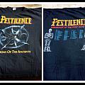 Pestilence OG vintage shirt testimony europe tour short sleeve