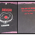 the day of DEICIDE milwaukee shirt 1992 (one day event shirt)