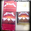 METALLICA master of puppets Longbox  Tape / Vinyl / CD / Recording etc