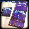 Metallica ride the lightning longbox 1984 Tape / Vinyl / CD / Recording etc