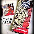 Napalm Death HARMONY CORRUPTION longbox 1990 Tape / Vinyl / CD / Recording etc