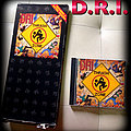 D.R.I. thrash zone longbox