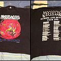 Massacre from beyond tour tee TShirt or Longsleeve