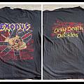 Vintage OG exodus only death decide shirt