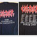 VADER ultimate incantation 1993 tour TShirt or Longsleeve