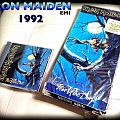 Iron maiden fear of the dark longbox 1992 Tape / Vinyl / CD / Recording etc