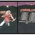 Cannibal corpse complete control US tour 1992 TShirt or Longsleeve
