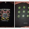 Two Bad religion generator vintage shirt one with no sleeves