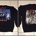 DEATH HUMAN sweatshirt, by blue grape merch 1990
