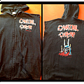 Cannibal corpse Sweatshirt with no sleeves blue grape