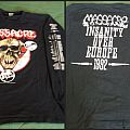 MASSACRE from beyond long sleeve, insanity over europe TShirt or Longsleeve