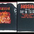 Deicide 1993 Tourlongsleeve TShirt or Longsleeve