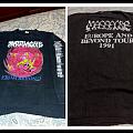 MASSACRE from beyond long sleeve EarachE 1991 TShirt or Longsleeve