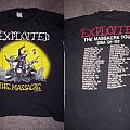 the exploited OG the massacre shirt by direct merch