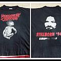 Malevolent creation stillborn Europe tour shirt