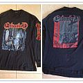 ENTOMBED lhp with tour dates on the sleeve TShirt or Longsleeve