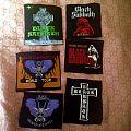 Vintage black sabbath patches